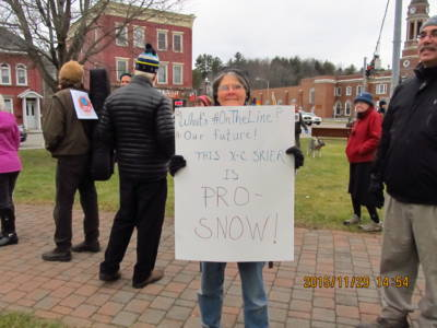 First Annual ADK Climate March in Saranac Lake